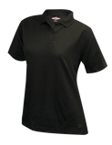 TRU-SPEC LADIES 24-7 PERFORMANCE SHORT SLEEVE POLO SHIRT BLACK 4XL REGULAR