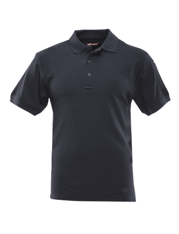 TRU-SPEC MEN'S CLASSIC COTTON SHORT SLEEVE POLO SHIRT NAVY 5XL REGULAR