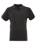 TRU-SPEC MEN'S CLASSIC COTTON SHORT SLEEVE POLO SHIRT BLACK 5XL REGULAR