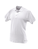 TRU-SPEC MEN'S CLASSIC COTTON SHORT SLEEVE POLO SHIRT WHITE 5XL REGULAR