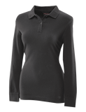TRU SPEC 24-7 LADIES COTTON LONG SLEEVE SHIRT BLACK 4XL