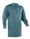 TRU-SPEC MEN'S PERFORMANCE LONG SLEEVE POLO SHIRT CLASSIC GREEN 5XL REGULAR