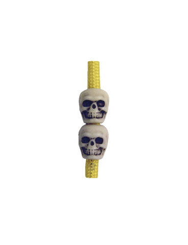 5IVE STAR GEAR SKULL BEADS ANTIQUE IVORY
