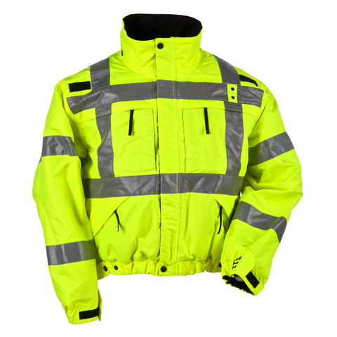5.11 TACTICAL HI-VIS REVERSIBLE JACKET HIGH VIS YELLOW 4XL