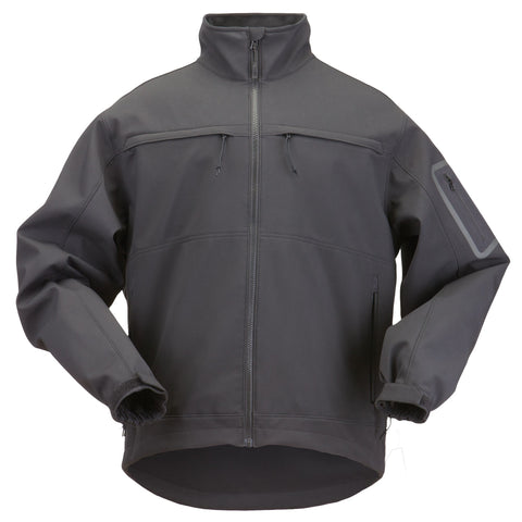 5.11 TACTICAL CHAMELEON SOFT SHELL JACKET BLACK 3XL
