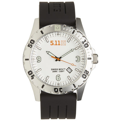 5.11 TACTICAL SENTINEL WATCH WHITE