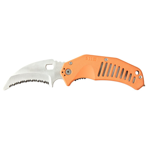 5.11 TACTICAL LMC CURVED RESCUE BLADE ORANGE 1 SZ