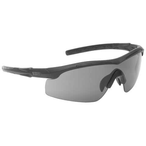 5.11 TACTICAL RAID EYEWEAR CHARCOAL 1 SZ