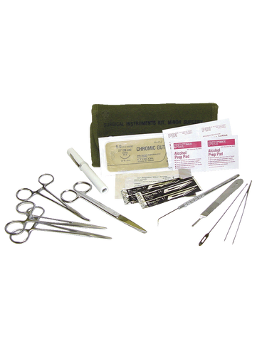 5IVE STAR GEAR GI SPEC STAINLESS STEEL SURGICAL SET