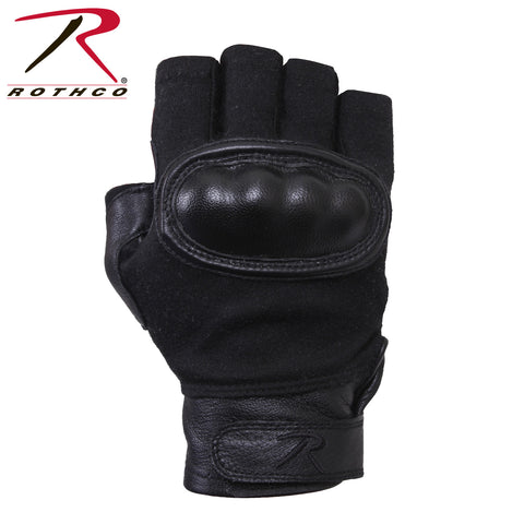 Rothco Hard Knuckle Fingerless Gloves  XL