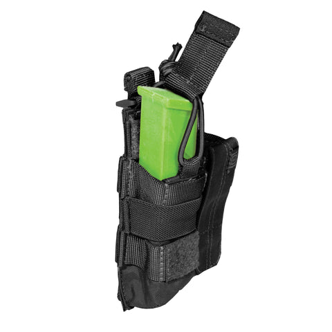5.11 TACTICAL DOUBLE PISTOL BUNGEE CVR BLACK