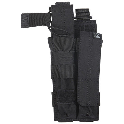5.11 TACTICAL MP5 BUNGEE W/COVER DOUBLE BLACK
