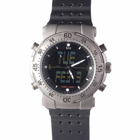 5.11 TACTICAL HRT TITANIUM WATCH MULTI