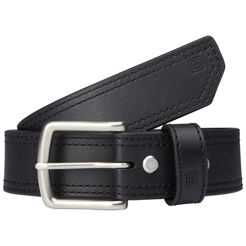 "1 1/2"" ARC LEATHER BELT BLACK 4XL"