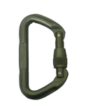 7000 SERIES TACTICAL LOCKING D CARABINER FOLIAGE