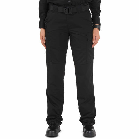 5.11 TACTICAL WOMENS RIPSTOP TDU PANTS BLACK 22 REGULAR