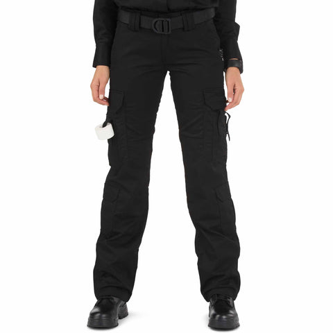 5.11 TACTICAL WOMENS TACLITE EMS PANTS BLACK 20 REGULAR