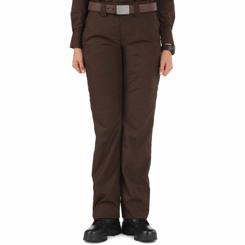 5.11 TACTICAL WOMENS TACLITE PDU CLASS-A PANT BROWN 20