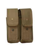 5IVE STAR GEAR M4/AK DOUBLE MAG MOLLE POUCH COYOTE
