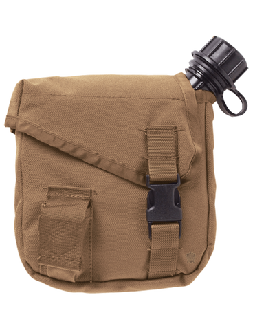 5IVE STAR GEAR MOLLE 2QT CANTEEN COVER COYOTE