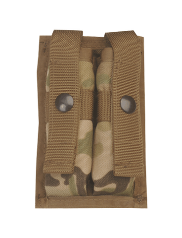 5IVE STAR GEAR 9MM DOUBLE MAG MOLLE POUCH MULTICAM