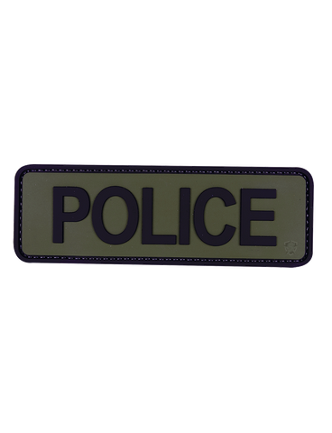 5IVE STAR GEAR 6X2 POLICE PATCH OD/BLACK