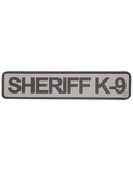 5IVE STAR GEAR SHERIFF K9 PATCH 1 3/4X8-T-Box Tactical