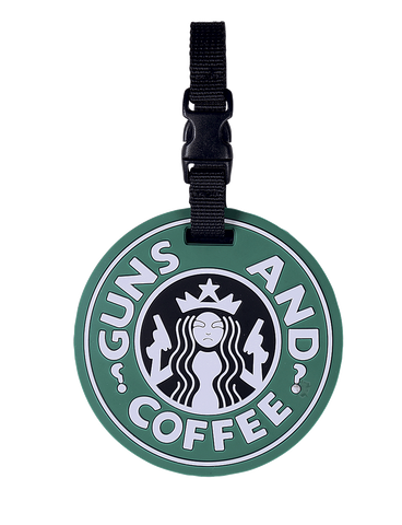 5IVE STAR GEAR GUNS AND COFFEE LUGGAGE TAG