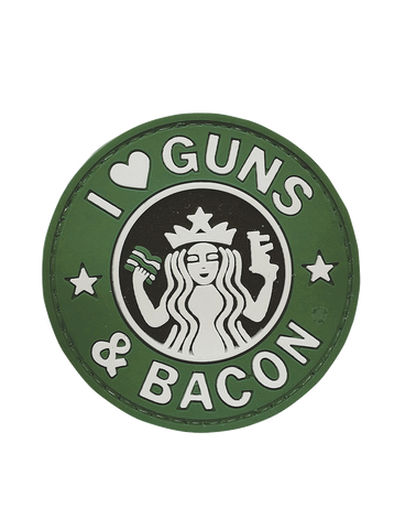 5IVE STAR GEAR GUNS AND BACON MORALE PATCH