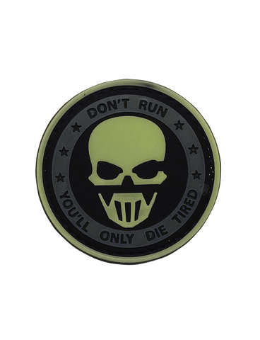 5IVE STAR GEAR DON'T RUN GHOST GLOW MORALE PATCH
