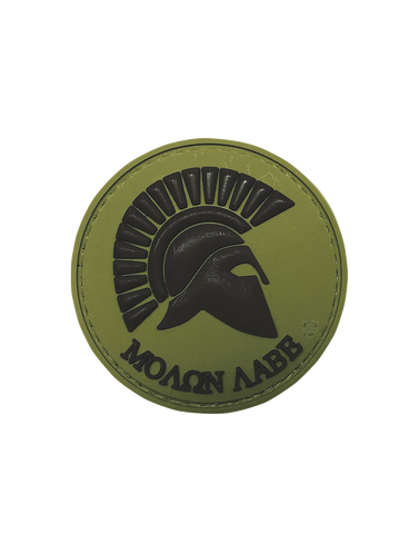 5IVE STAR GEAR MOLON LABE OLIVE MORALE PATCH