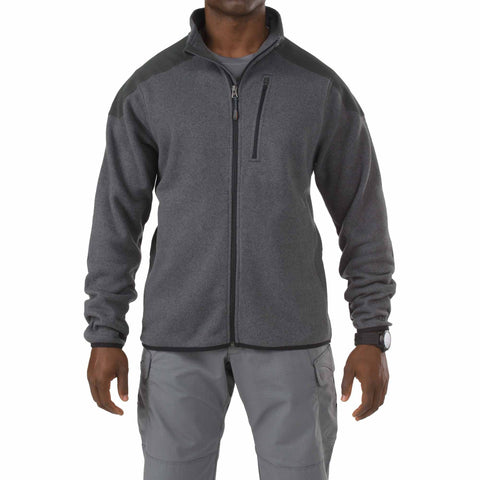 5.11 TACTICAL TACTICAL FULL ZIP SWEATER GUN POWDER 2XL