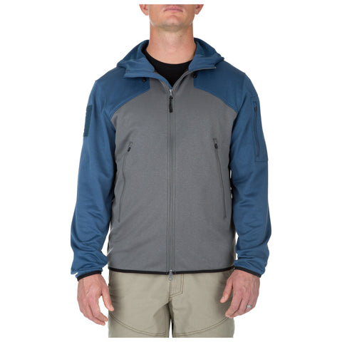 5.11 TACTICAL REACTOR FULL ZIP HOODIE 2.0 STORM 2XL