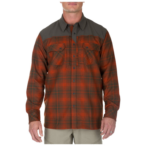5.11 TACTICAL SIDEWINDER FLANNEL SHIRT-T-Box Tactical