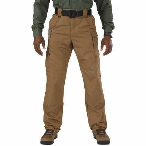 5.11 TACTICAL TACLITE PANTS - LG BATTLE BROWN 54 UNHEMMED