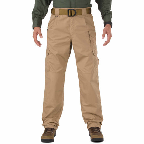 5.11 TACTICAL TACLITE PANTS - LG COYOTE 54 UNHEMMED