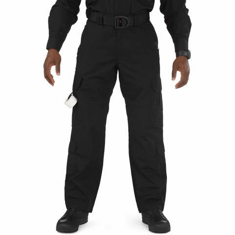 5.11 TACTICAL TACLITE EMS PANTS - LG BLACK 54 UNHEMMED