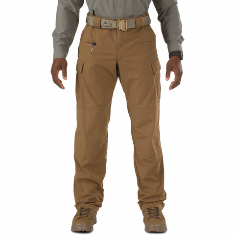 5.11 TACTICAL STRYKE PANT W/FLEX TAC BATTLE BROWN 54 UNHEMMED