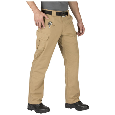 5.11 TACTICAL STRYKE PANT W/FLEX TAC COYOTE 54 UNHEMMED