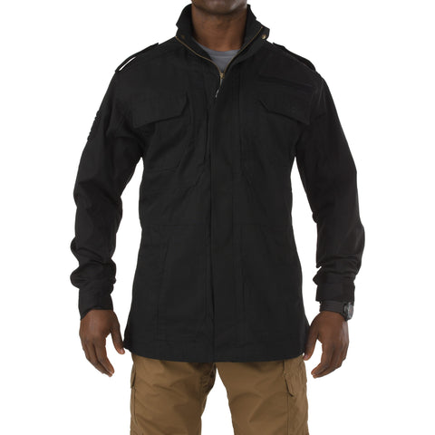 5.11 TACTICAL TACLITE M-65 FIELD JACKET BLACK 2XL