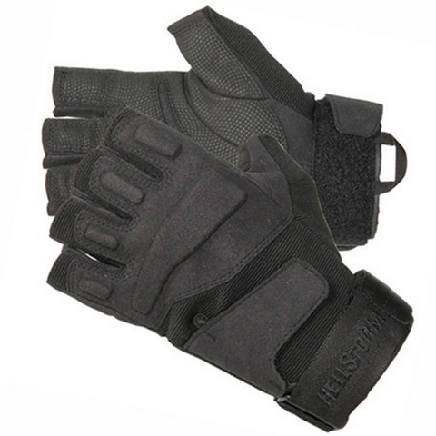 BLACKHAWK HELLSTORM SOLAG HALF FINGER ASSAULT GLOVES