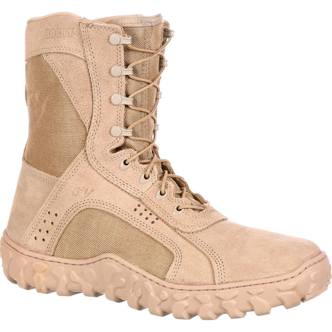 ROCKY S2V DESERT TAN TACTICAL MILITARY BOOT-T-Box Tactical
