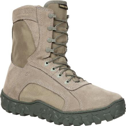 "ROCKY SAGE S2V 8"" GORE-TEX WATERPROOF 400G INSULATED TACTICAL MILITARY BOOT-T-Box Tactical"