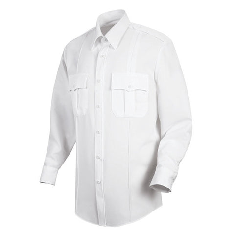 HORACE SMALL NEW DIMENSION POPLIN LS SHIRT WHITE