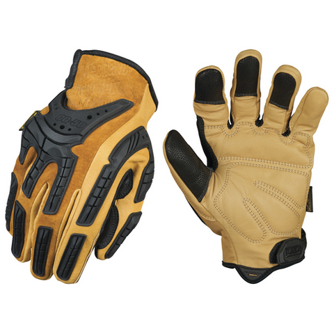 MECHANIX WEAR-COMMERCIAL GRADE FULL LEATHER GLOVE-T-Box Tactical