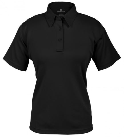 Propper I.C.E. Women's Performance Polo - Short Sleeve Black XS