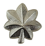 "HERO'S PRIDE SMALL MAJOR LEAF PAIR 3/4""   SILVER   2 CLUTCH"