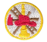 "HERO'S PRIDE  SCRAMBLE (BASIC)  PATCH 1"" CIRCLE MULTI COLOR  SEW ON"