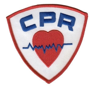 HERO'S PRIDE CPR  PATCH3 3/4 X 3 5/8 FULL COLOR SEW ON
