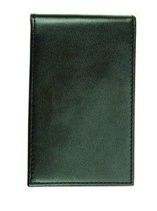 "HERO'S PRIDE GENUINE LEATHER 3 - 5/8 X 5 - 3/4"" NOTEPAD CASE WITH NOTEPAD"